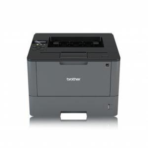 Impresora blanco y negro brother